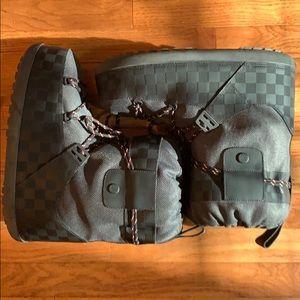 louis vuitton snow boots